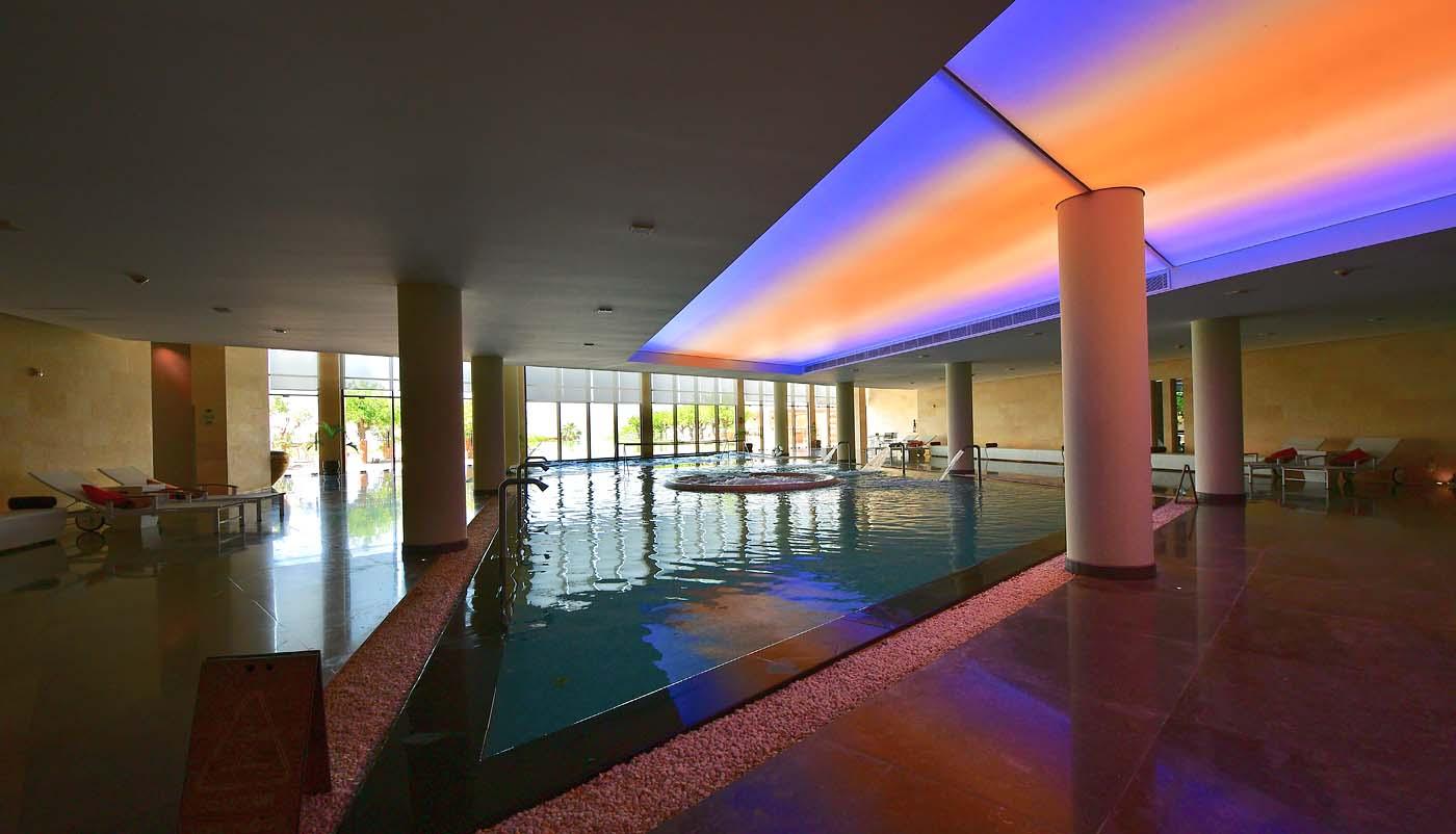 Spa by Resense hydrotherapy pool (Kempinski Hotel Ishtar Dead Sea)