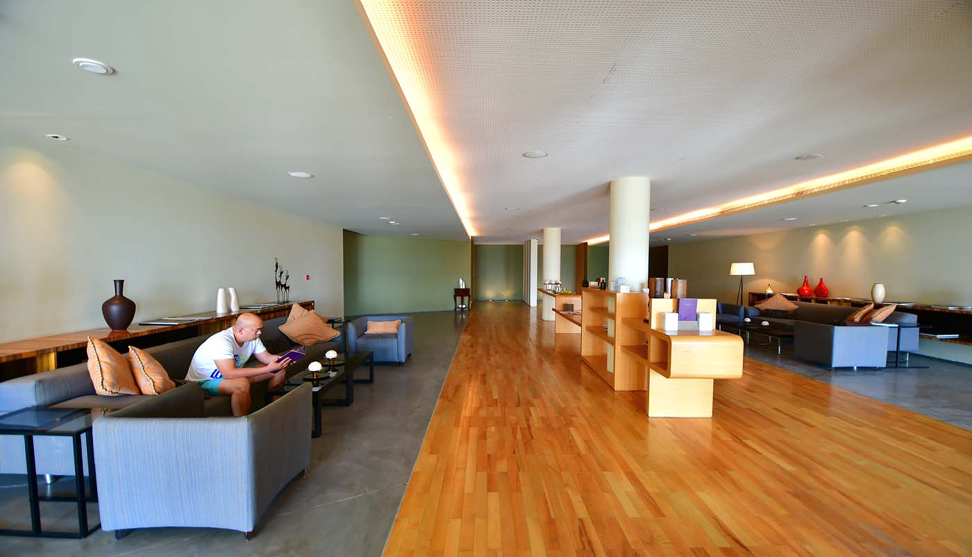 Spa by Resense relaxation area (Kempinski Hotel Ishtar Dead Sea)