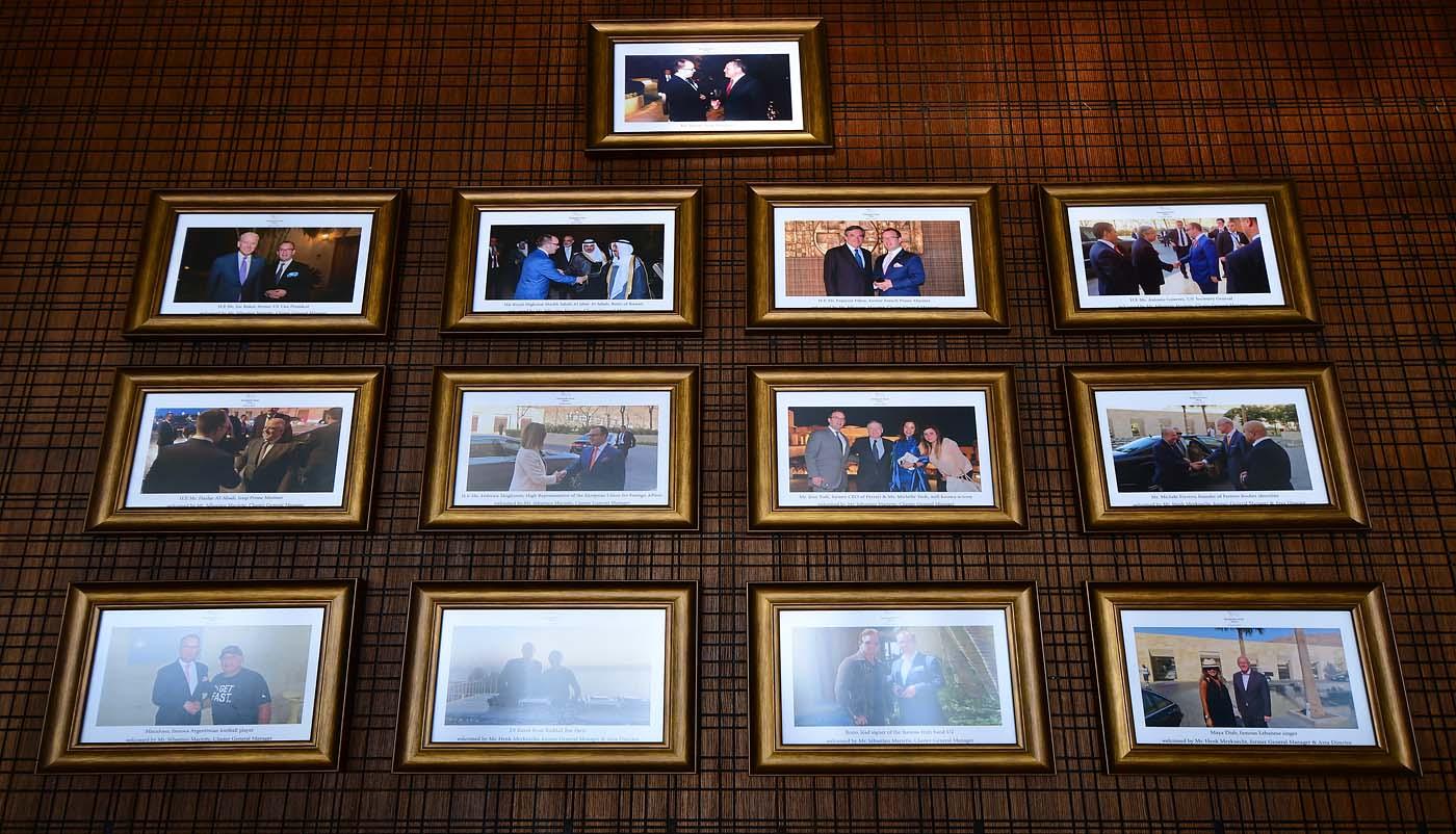 VVIP Guests (Kempinski Hotel Ishtar Dead Sea)