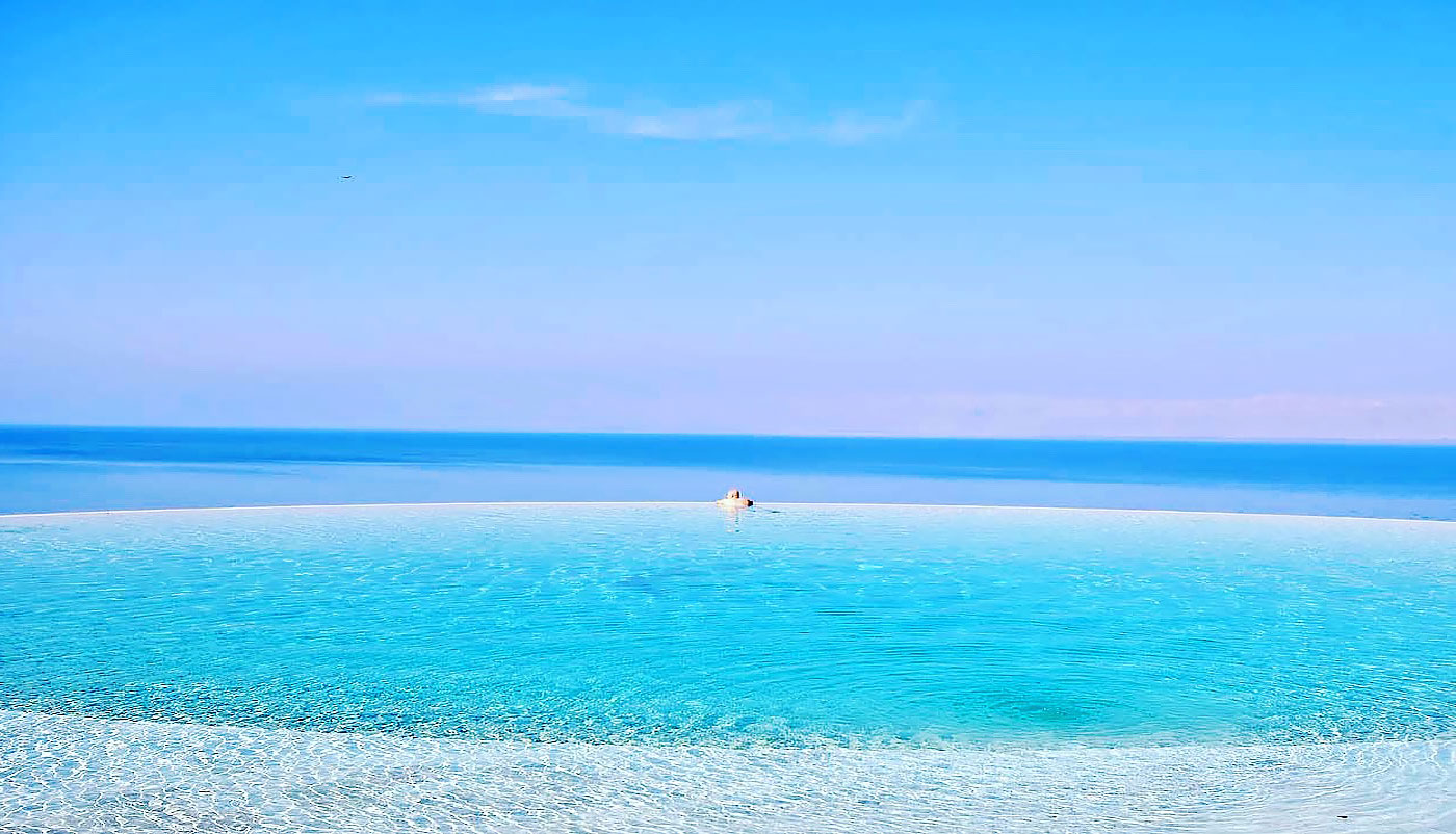 Infinity Pool (Kempinski Hotel Ishtar Dead Sea)