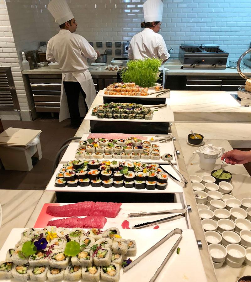 Friday Brunch at Giornotte (The Ritz-Carlton, Abu Dhabi)