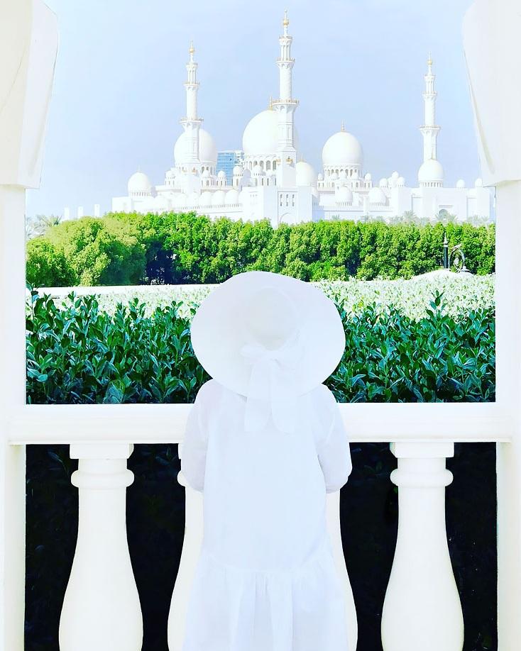 View of Sheikh Zayed Mosque (The Ritz-Carlton, Abu Dhabi)