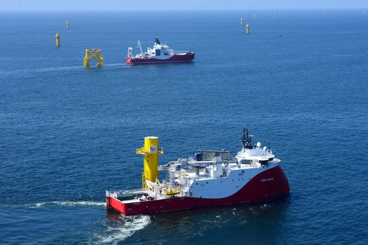 VIDEO: Siem Duo Gets Busy at Nordsee One Source: Innogy