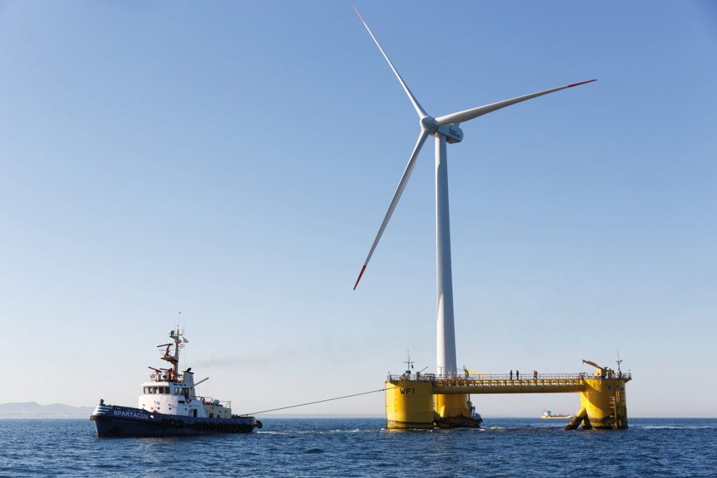 WindEurope: Floating Offshore Wind Ripe for Industrial Scale Roll-Out