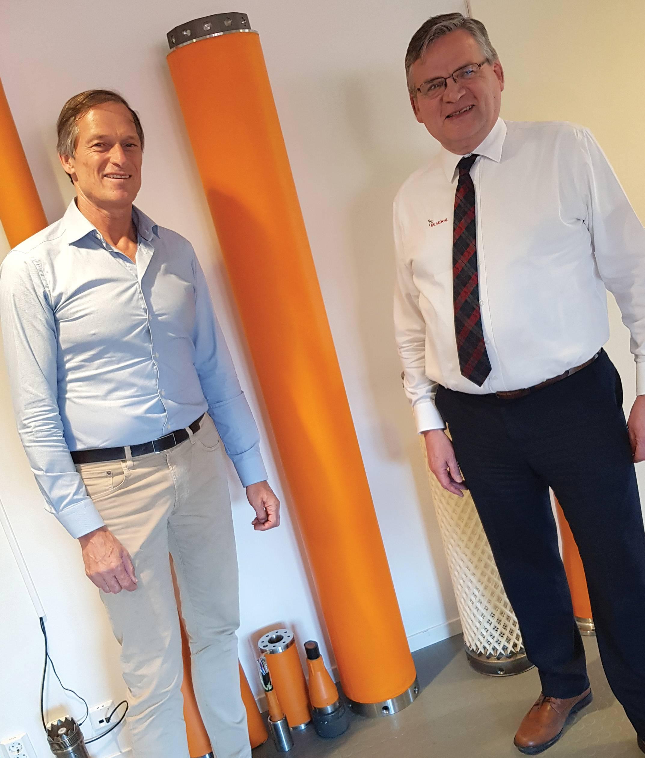Henrik Andreasen and Bill Main (Photo: Balmoral Offshore Engineering)