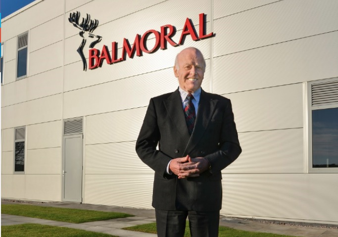 Jim Milne, chairman and managing director of Balmoral