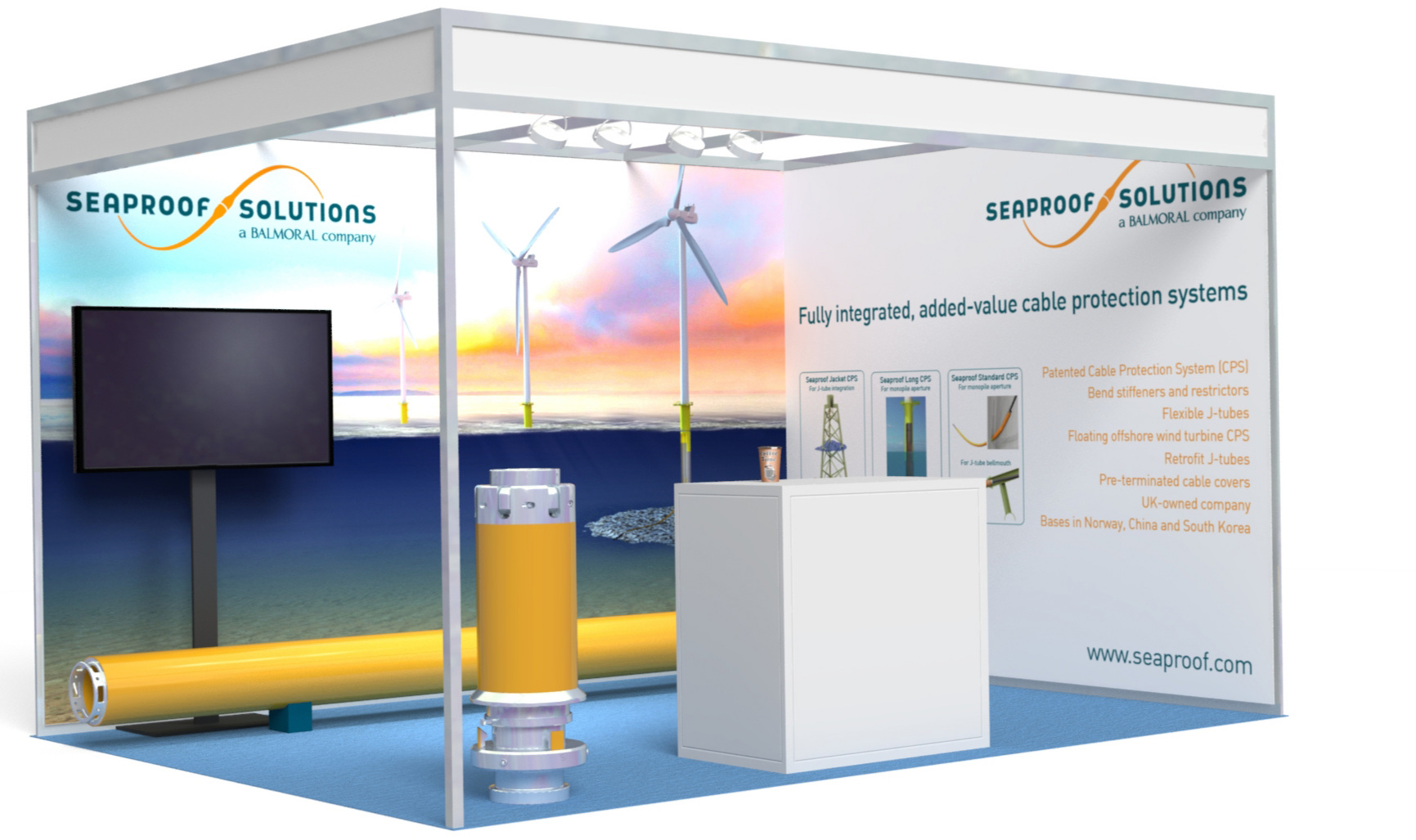 Join us on stand 80 at Global Offshore Wind 2019