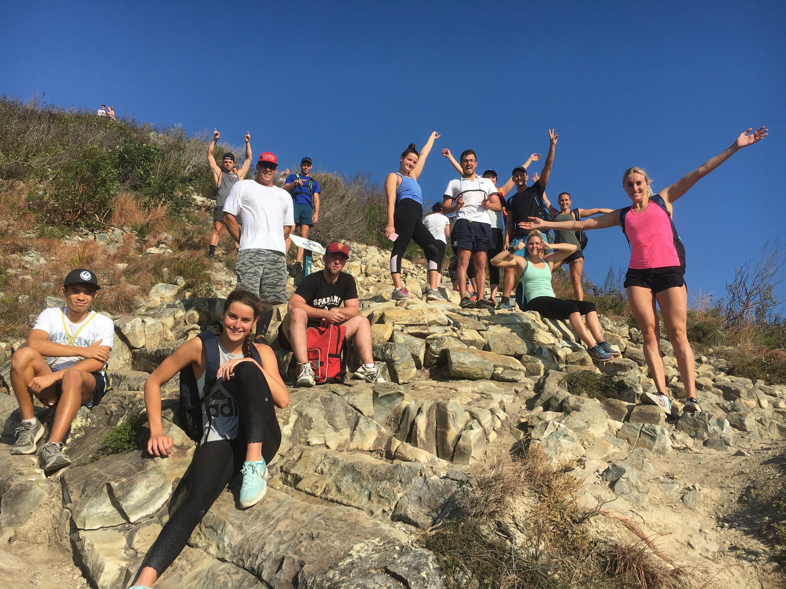 Sobotní týmový hiking :)