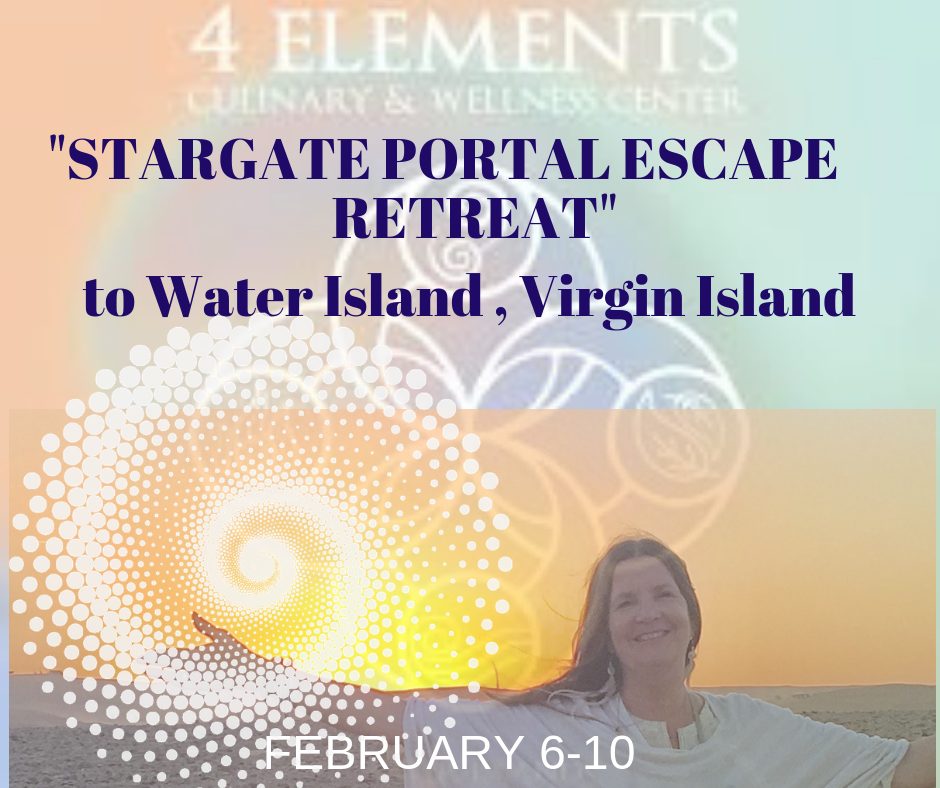 ESCAPE WITH ME TO THE VIRGIN ISLANDSFeb 6-10 4 days in Paradise w Anjahlia. Channeled Teachings, Trance Sound Gong Journey's, Personal Channeling and great food, cabanas, and Portal Work! -