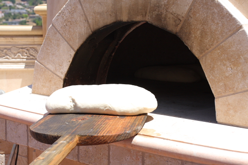 bread-going-into-oven