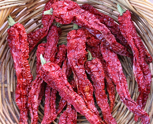 Dried Peperoni di Senise