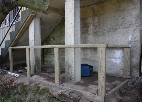 Framing of chicken coop