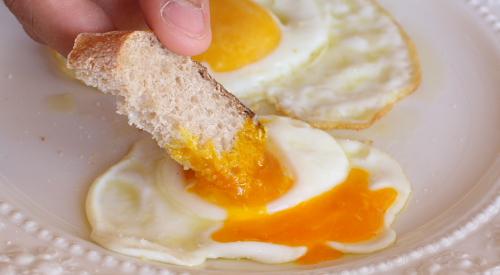 Our orange egg yolk