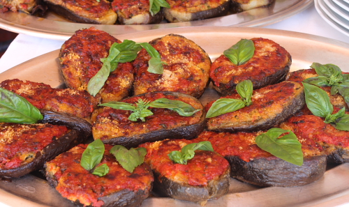 Stuffed eggplants Cetrarese style