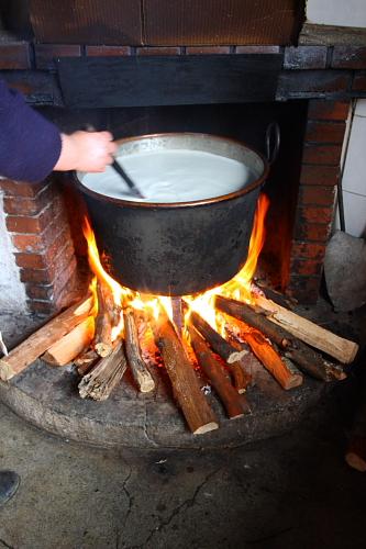 Ricotta making.JPG