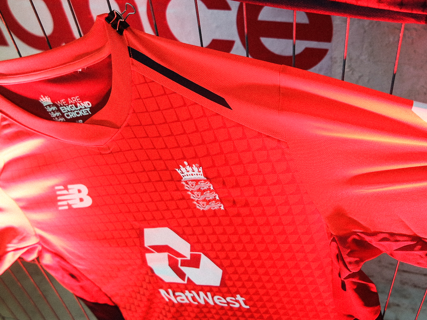 New Balance England T20 Shirt