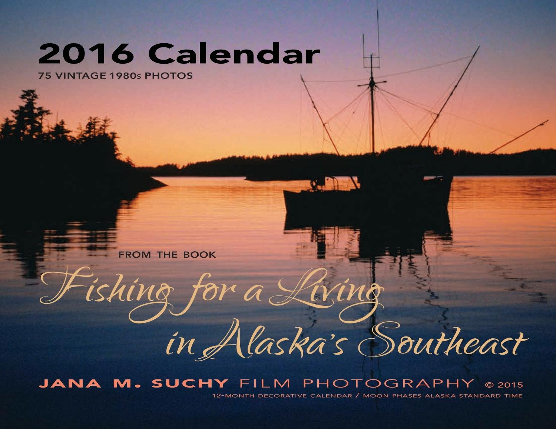 Calendar with color photos