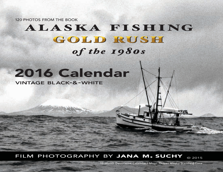 Calendar with Black & White photos