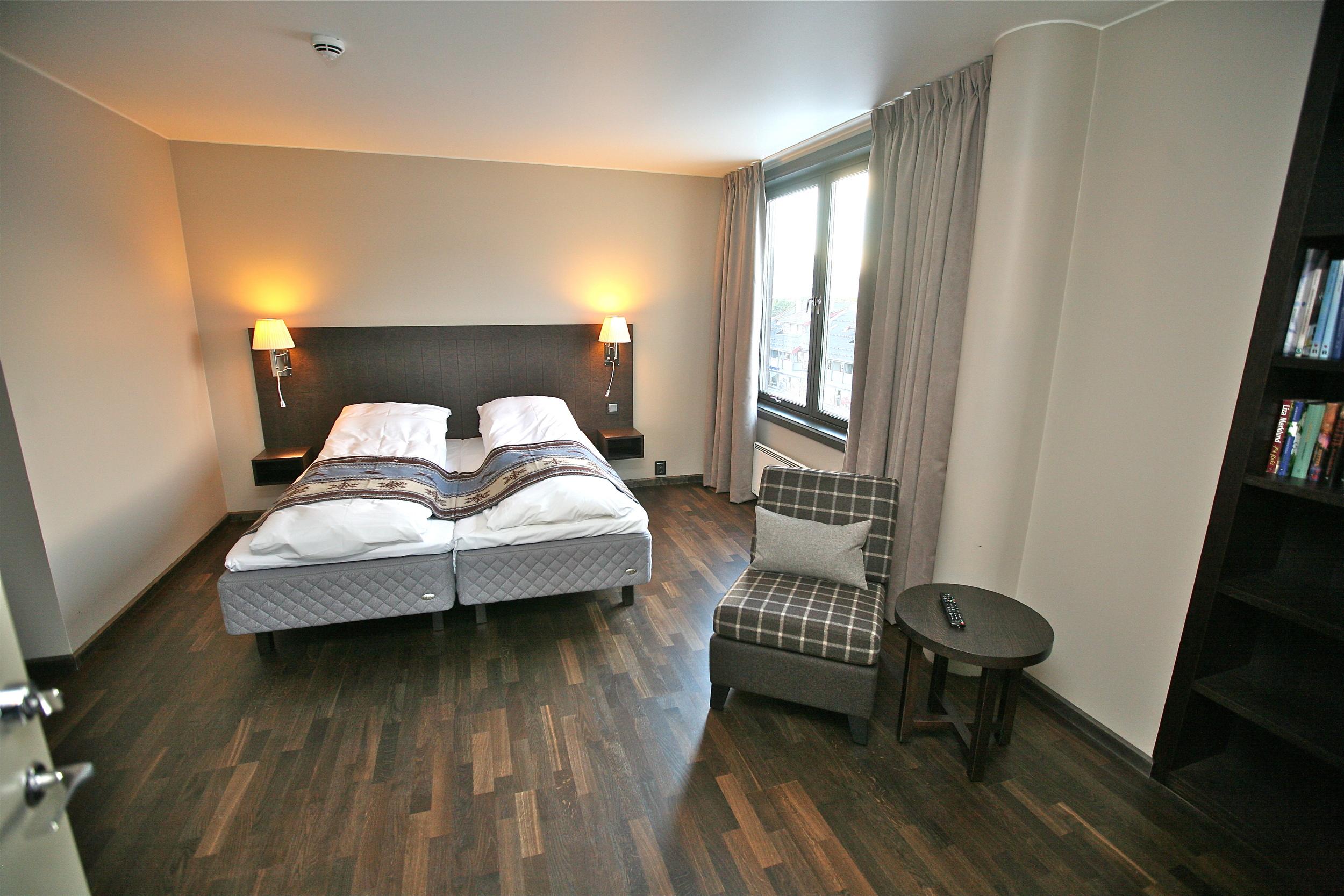 God tur til ditt neste hotellopphold.                      Foto: Odd Roar Lange