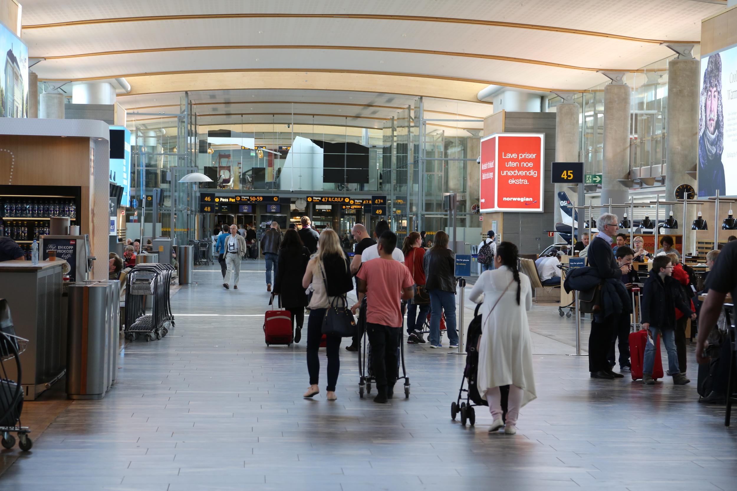 Pass godt på bagasjen din. Og husk reiseforsikring. Foto: Odd Roar Lange