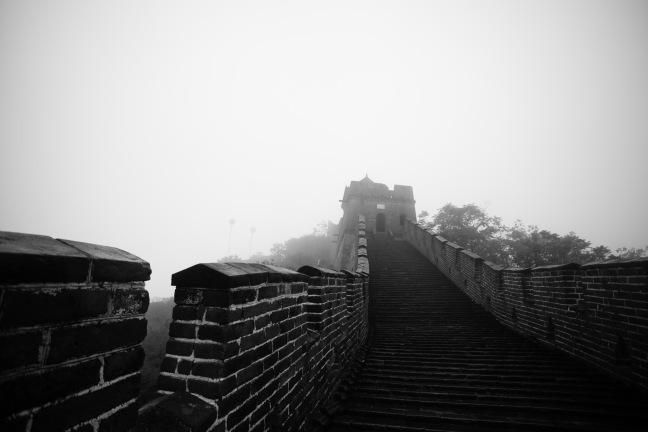 Den kinesiske mur, slik Ragnhild-Marie ser den. Foot: Fra bloggen ragnhild-marie.com