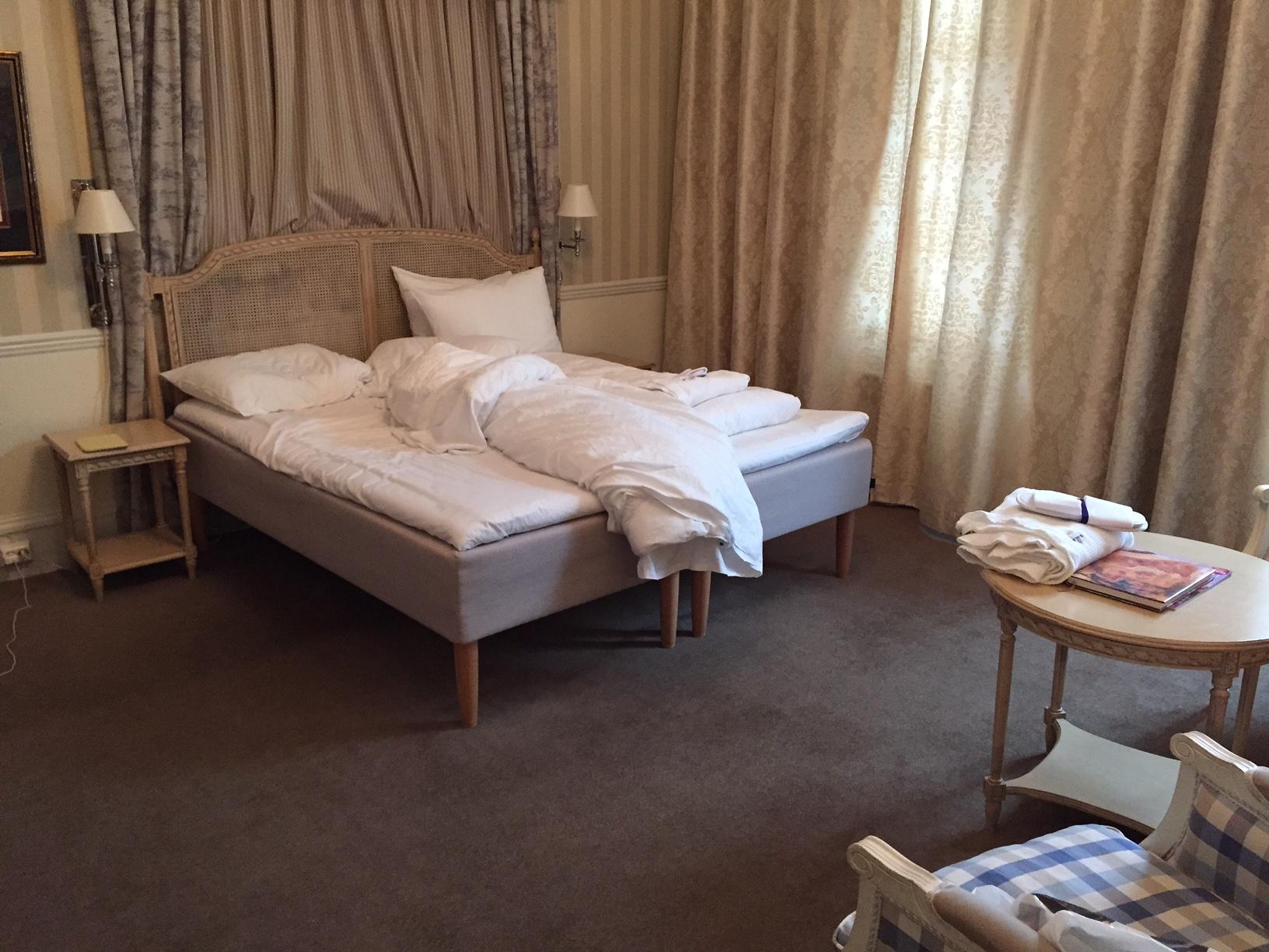 """Et """"brukt"""" hotellrom, her på tidligere Britannia hotel i Trondheim, kan også se ok ut. Foto: Odd Roar Lange"""