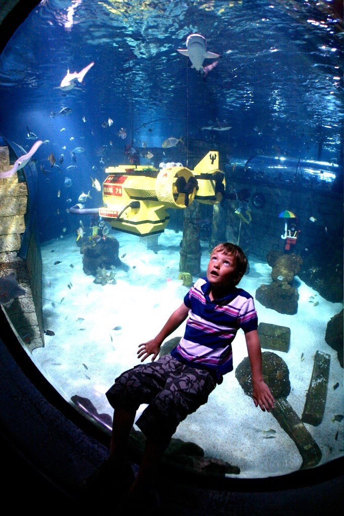 Drømmereise over og under vann i Legoland. Foto: Odd Roar Lange