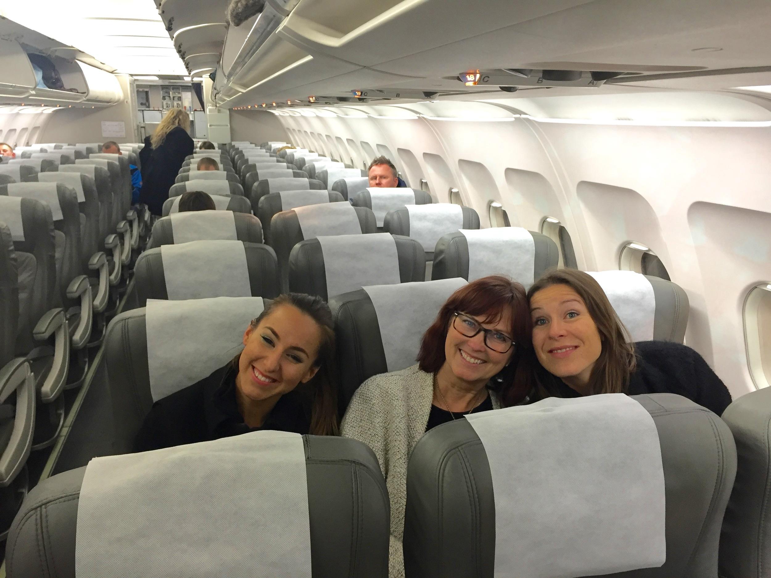 Bli en reiseekspert og gjør flyturen bedre for deg selv og for alle de andre.    Foto: Odd Roar Lange