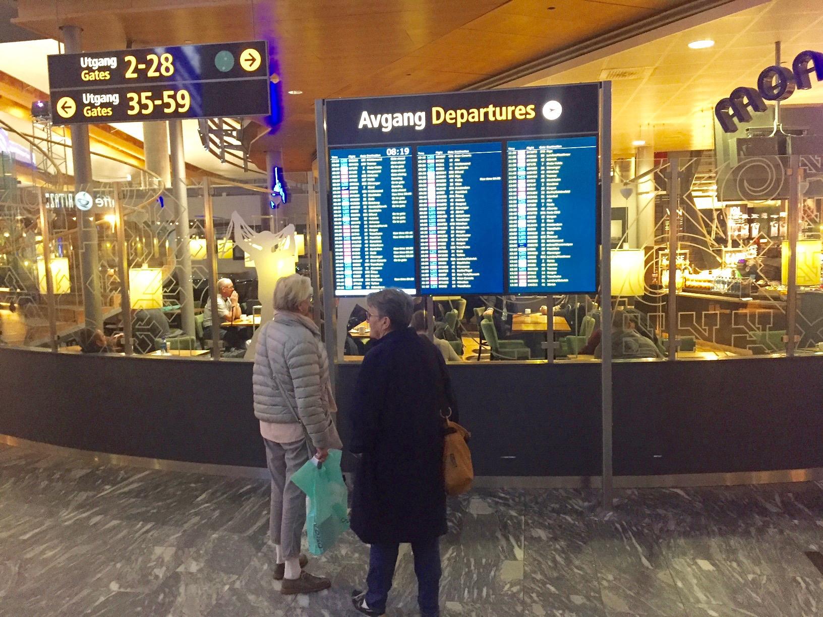 Følg med, nå kommer billigsreisene.                                Foto: Odd Roar Lange