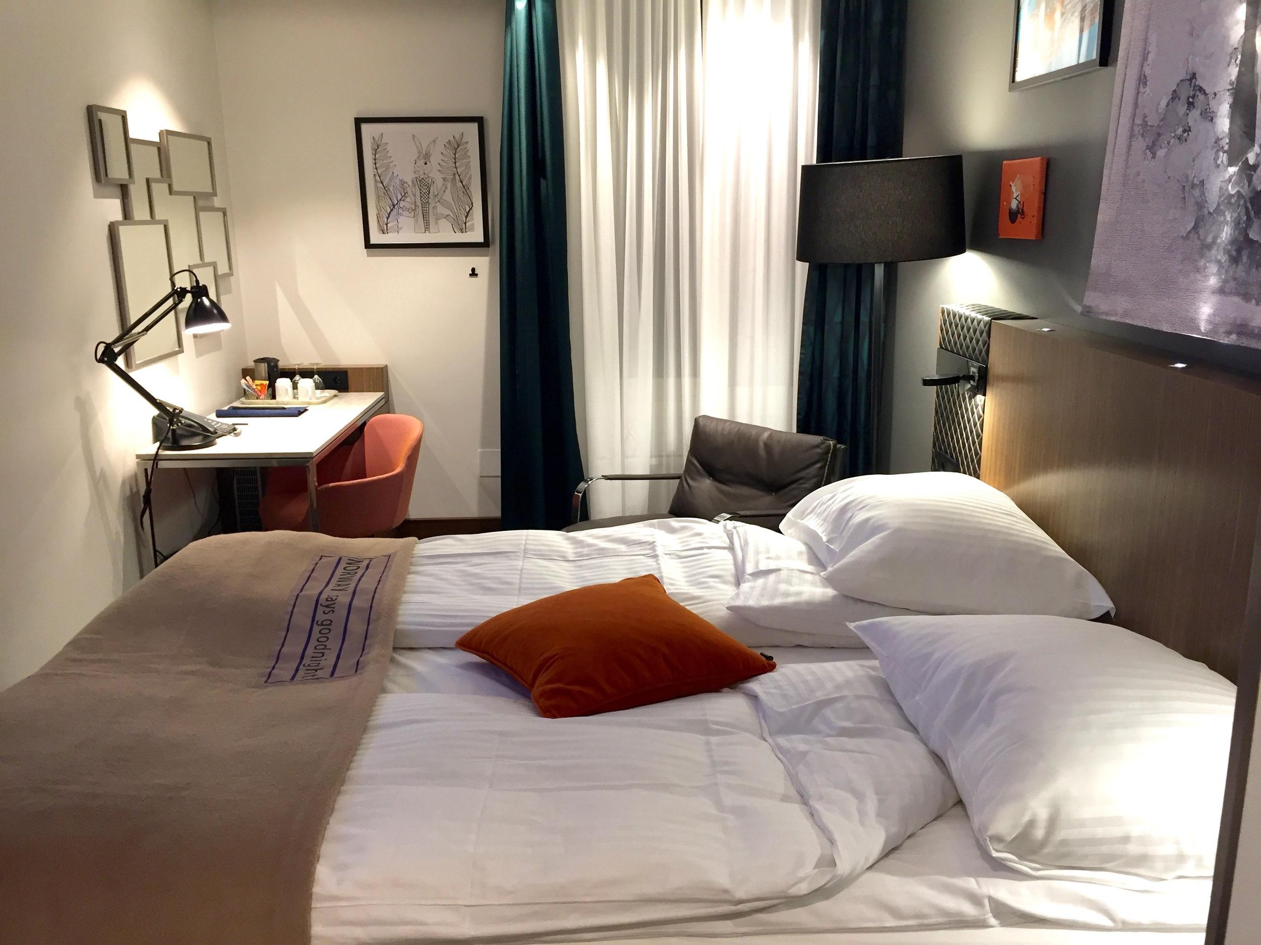 Hotellsengene blir billigere når konkurransen øker.      Foto: Odd Roar Lange