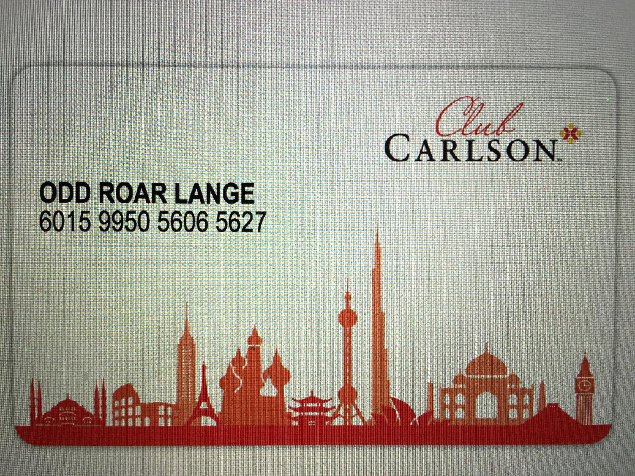 Bruk bonuskortet ditt hver gang. Men husk at da må du bestille direkte til hotellet, ikke via bookingfirmaene.               Foto: Odd Roar Lange