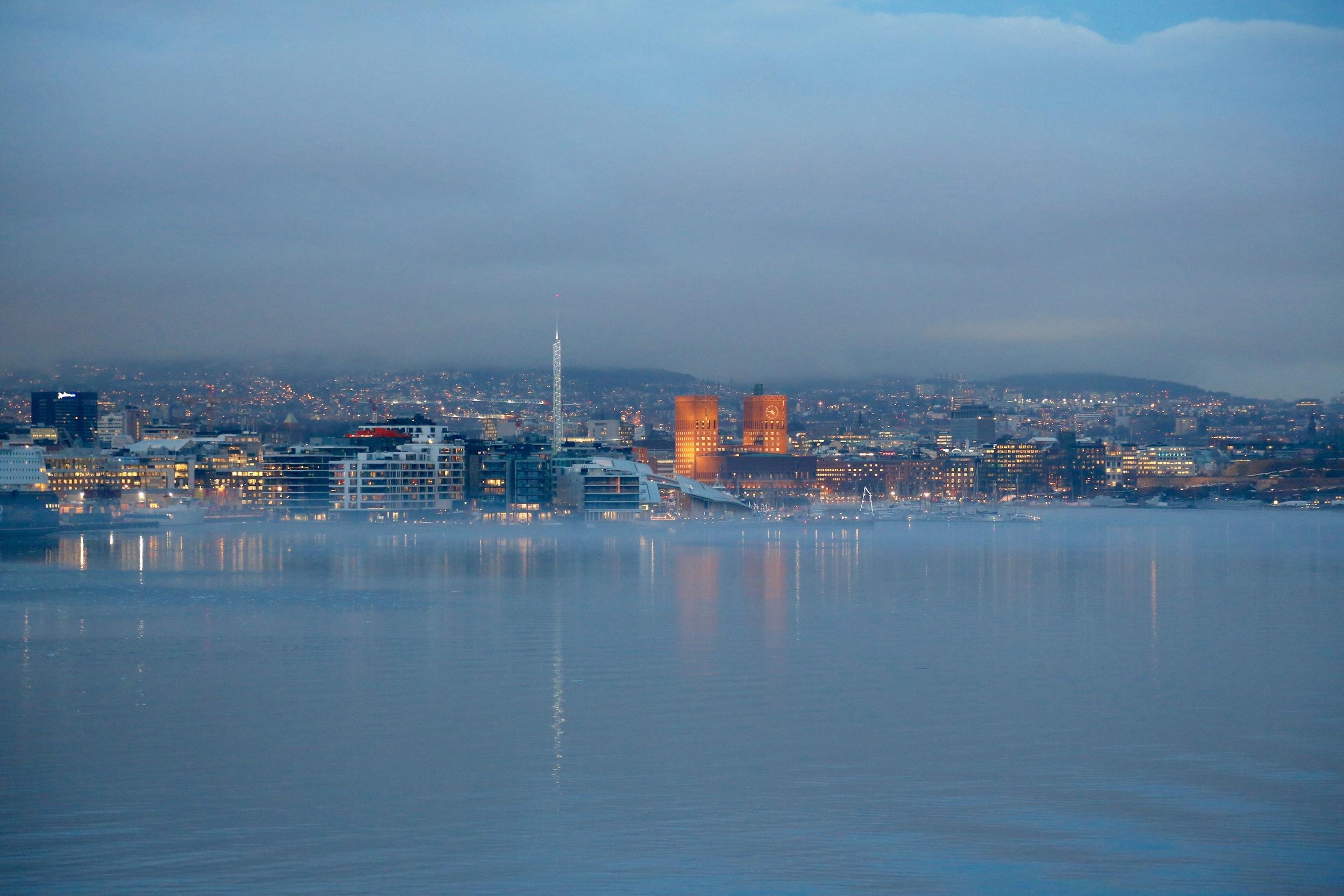 Er dere klare til å legge Oslo bak dere?                     Foto: Odd Roar Lange