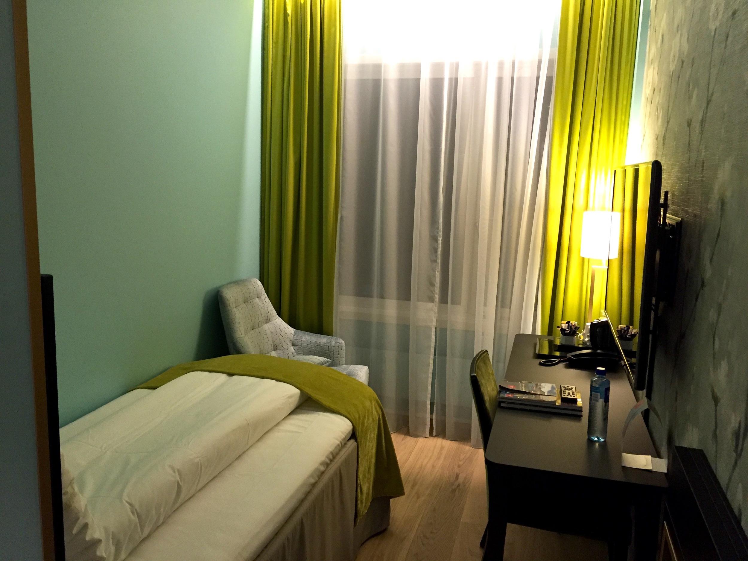 De små rommene er ... små ... og billige.                    Foto: Odd Roar Lange