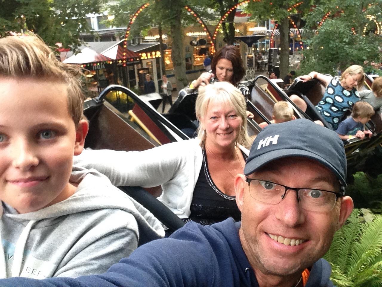 Full fart for dansk turisme - her i Tivoli.               Foto: Odd Roar Lange