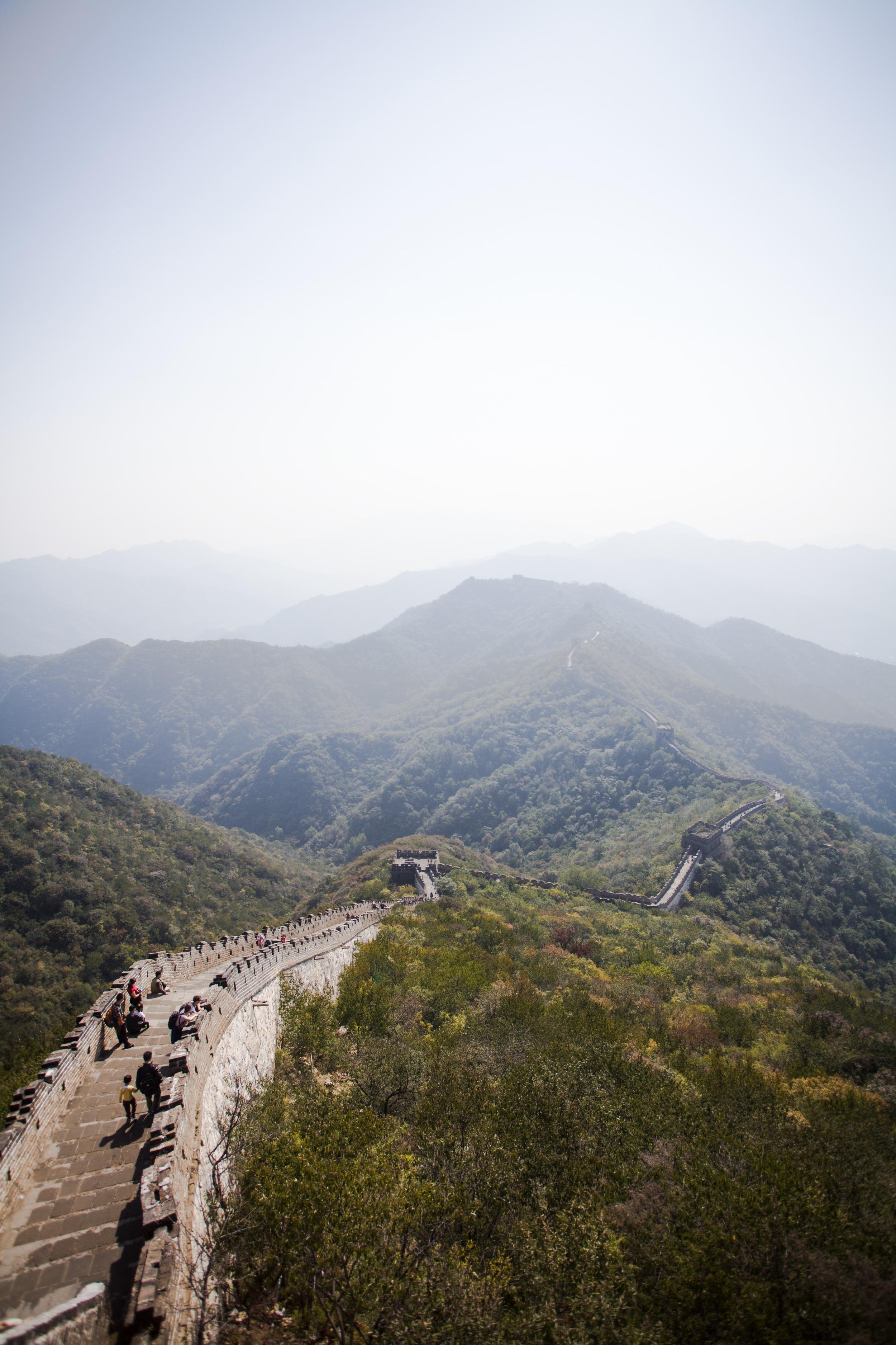 Den kinesiske mur, Kina.