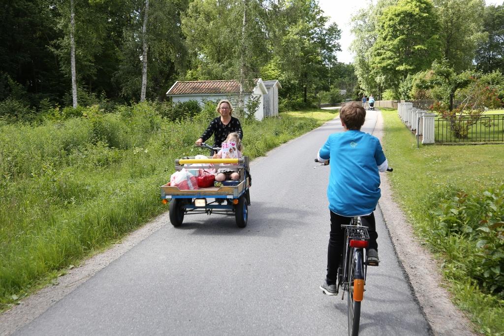 Deilige, bilfrie Kosterøyene på Vestkysten. Ta gjerne turen dit i sommer. Foto: Odd Roar Lange