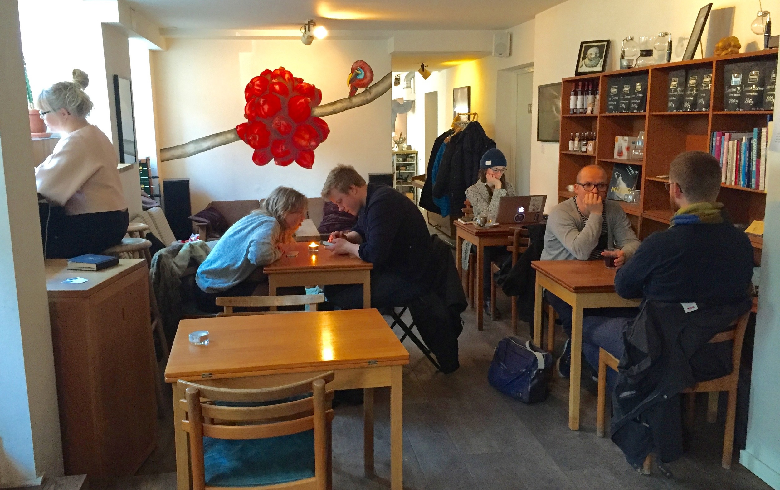 Bo som en local - spis som en local.                         Foto: Odd Roar Lange