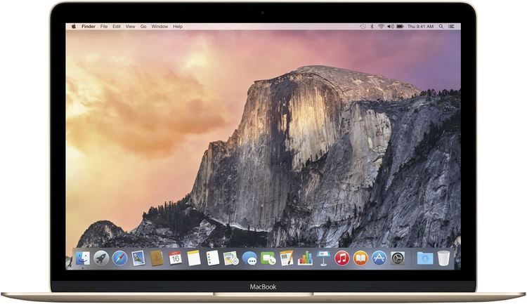 """Mac Book Pro 12"""" Gold."""