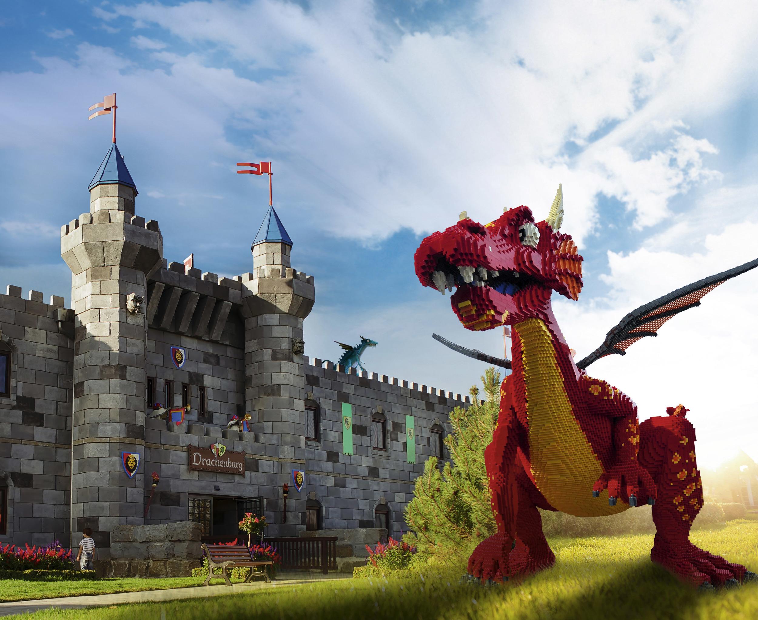 Legoland er blitt en fast ferieattraksjon for mange familier.                Foto: Legoland