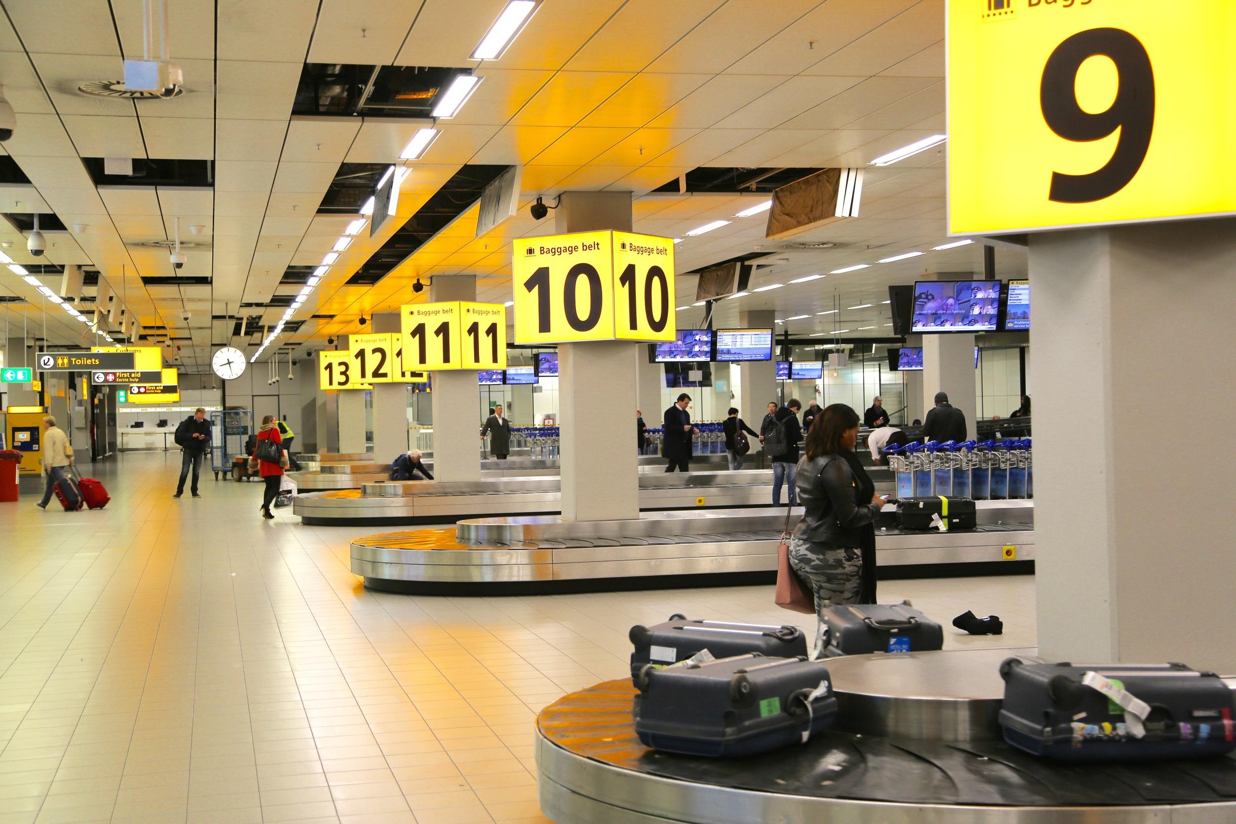 Hvor mye bagasje har du lov til å ta med?               Foto: Odd Roar Lange