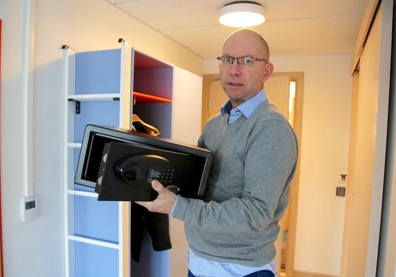 De fleste norske hotell bruker anerkjente og trygge safer, men slik er det ikke alltid i utlandet.