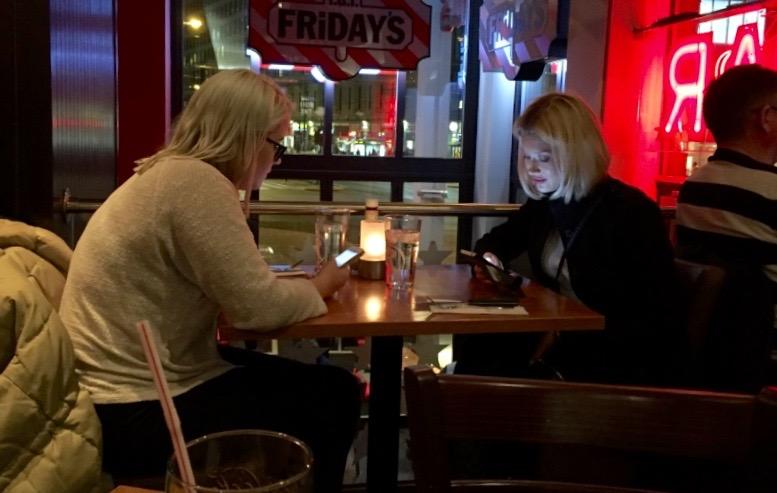 Er det slik vi ønsker det på restaurant?                Illustrasjonsfoto: Odd Roar Lange