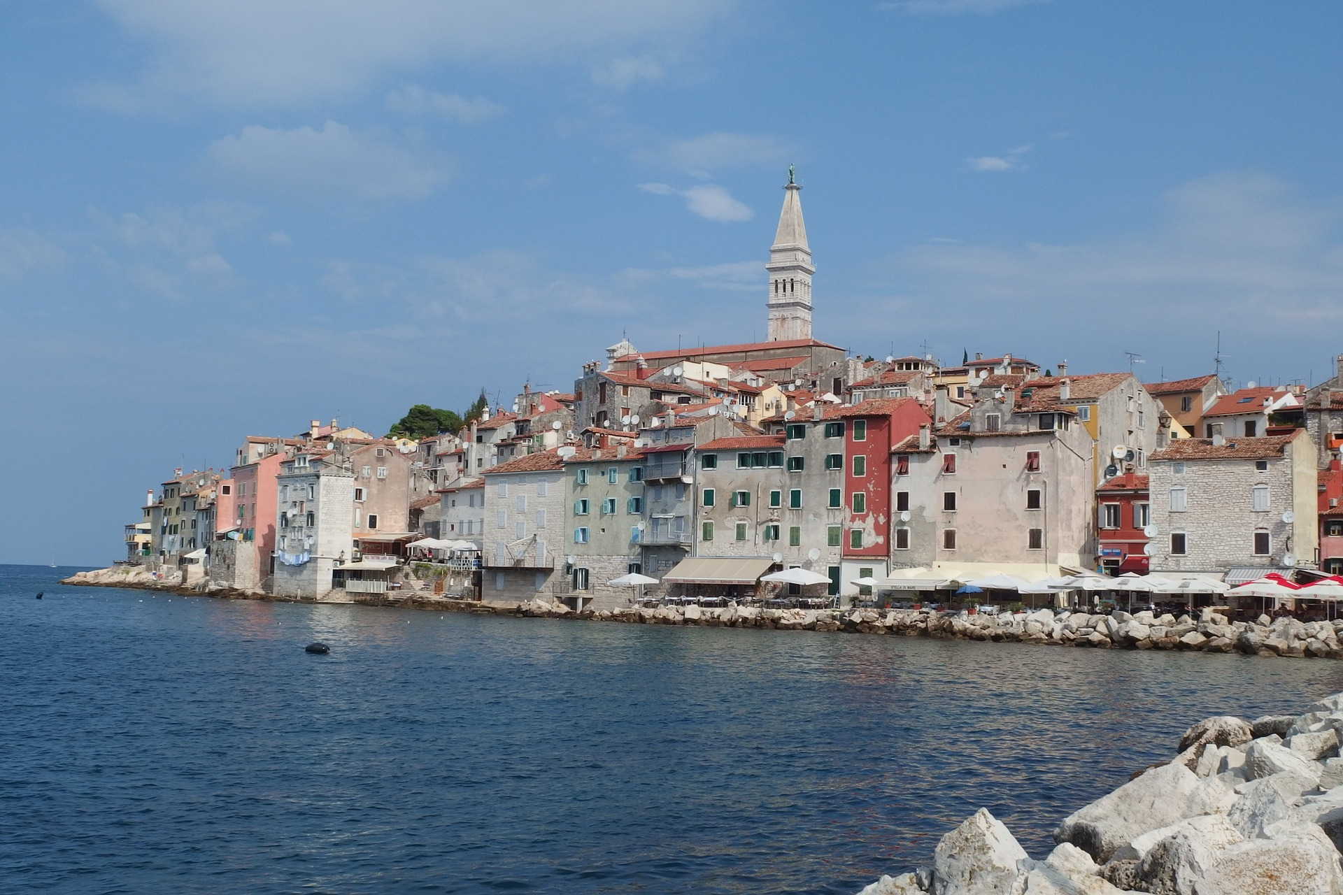 Istria i Kroatia.
