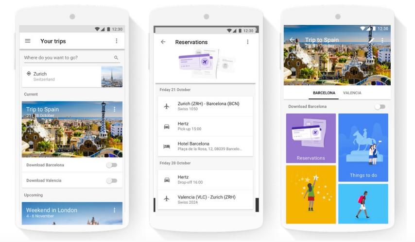 Slik ser den nye google-appen ut. Prøv den, og skrive gjerne din erfaring i kommentarfeltet.
