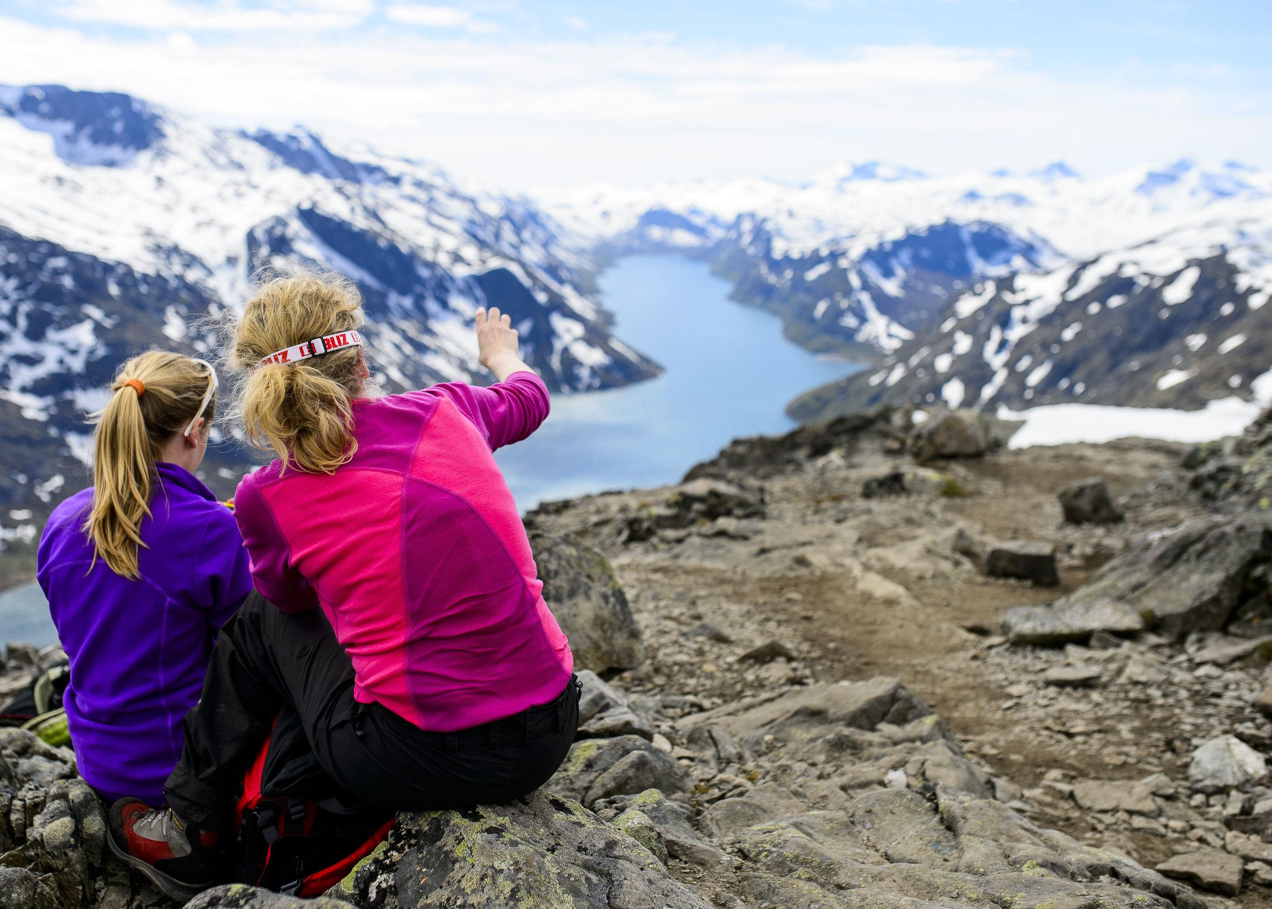 Utsikt til enda flere fine opplevelser i Norge i fjellet.  Foto: Marius D. Sætre/Turistforeningen