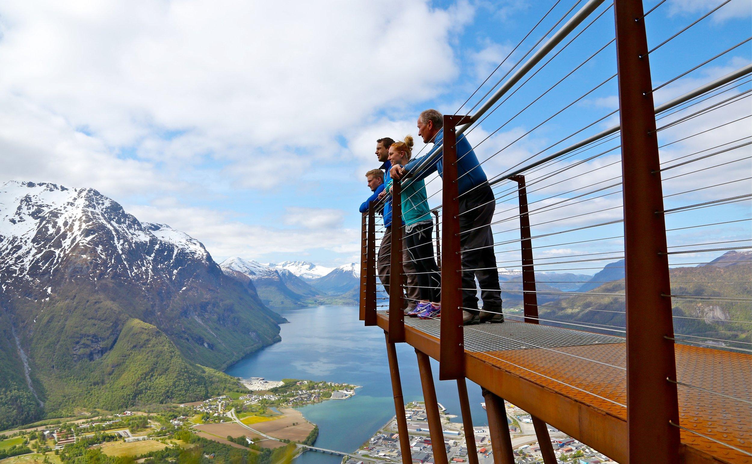 Tenke seg til at noen må på do når de er på fjellet.          Foto: Odd Roar Lange