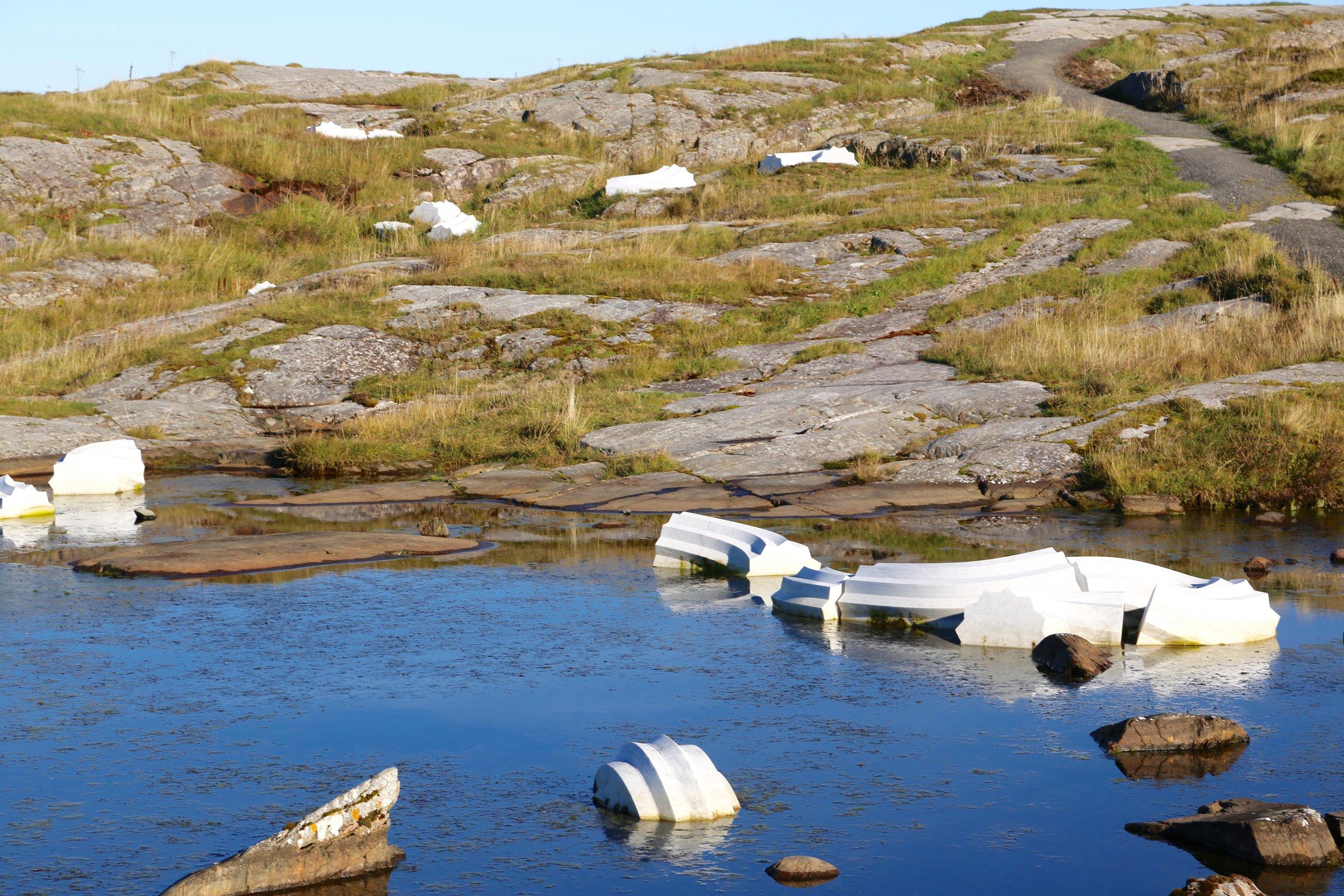 Er det kunst eller er det miljøkriminalitet?           Foto: Odd Roar Lange