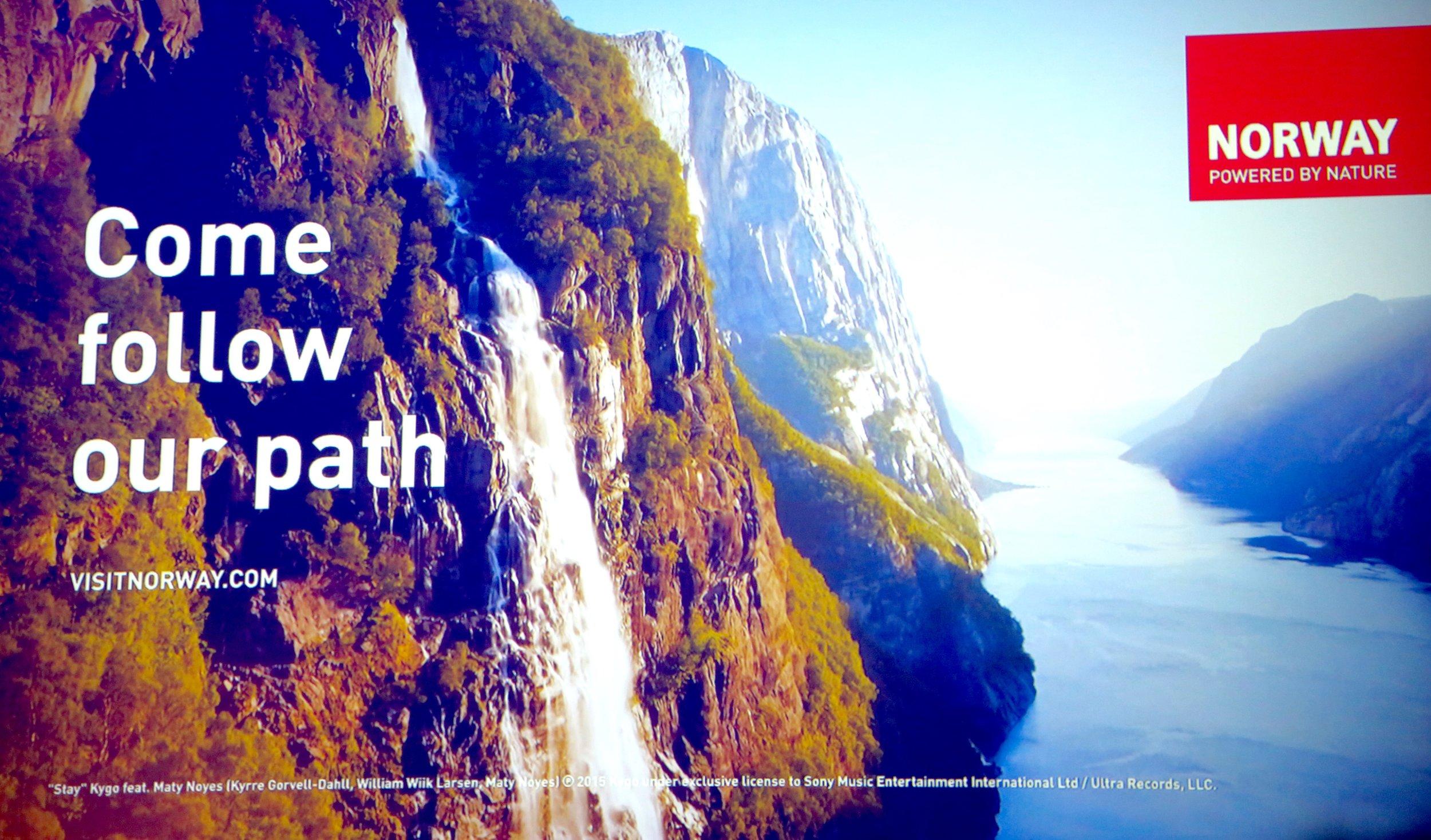 Fra den nye filmen fra Visit Norway