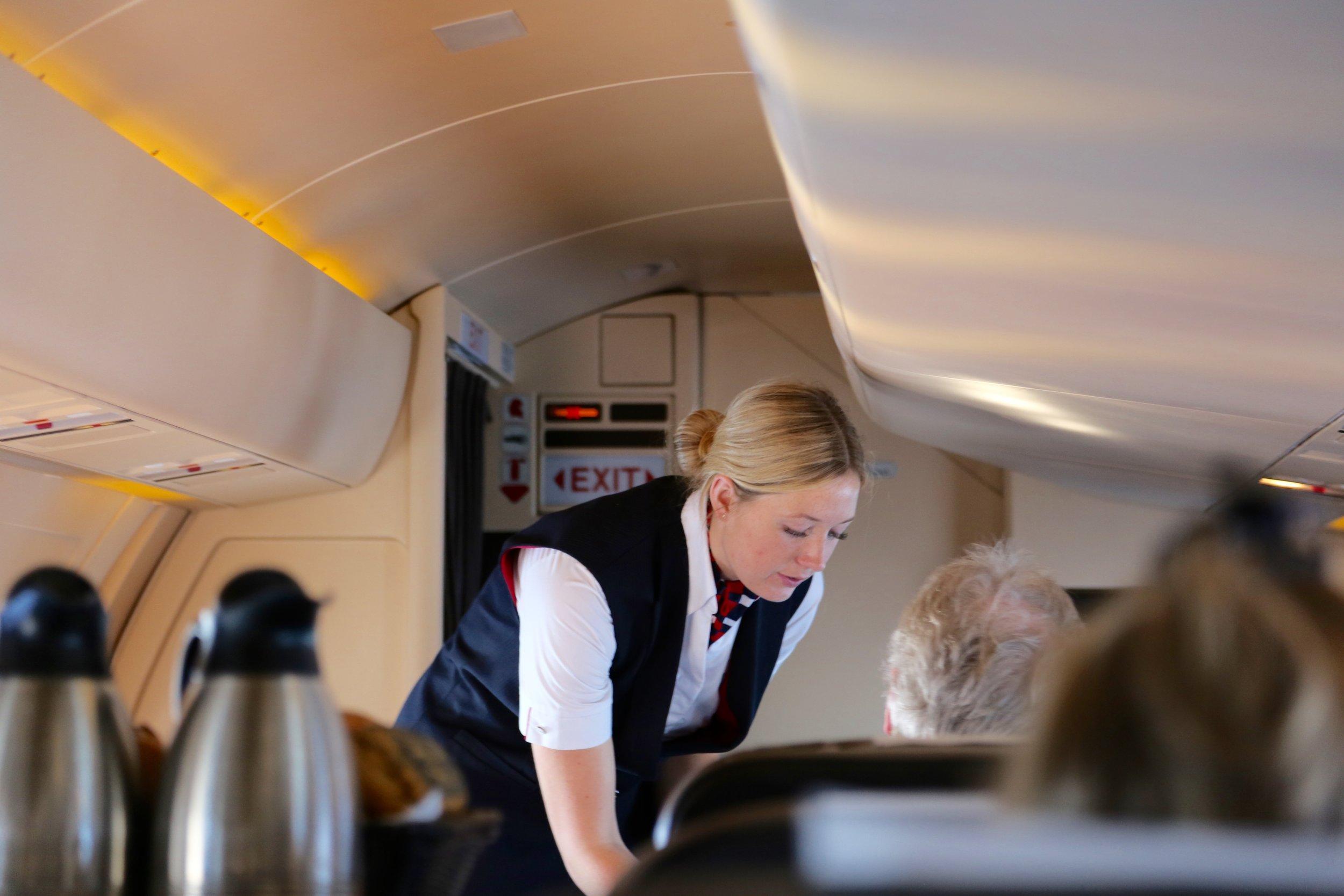 Trodde du at det var billig å fly?                     Foto: Odd Roar Lange