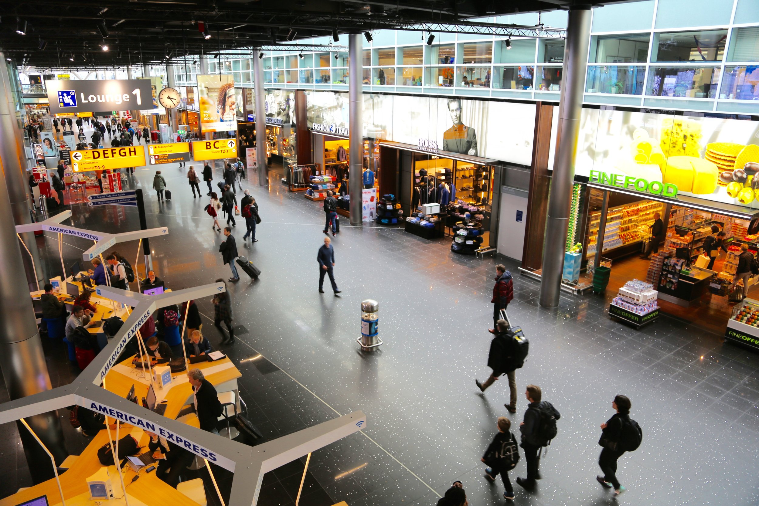 Norwegian skal til Schipol med sine langdistansefly.     Foto: Odd Roar Lange